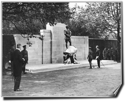 Kitchener Memorial at Horse Guards