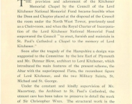 1925 Kitchener Memorial at St Paul's - Part 5